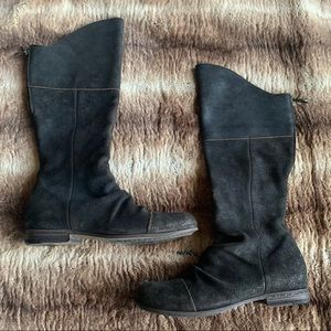 Florentini + Baker Distressed Slouchy Boots